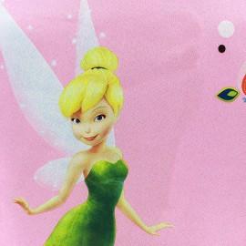 Tissu Occultant Disney Les Fées - rose x 65cm