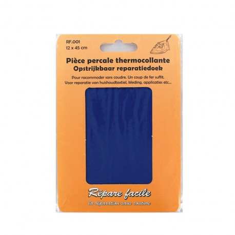 Percale Repair sheet - blue