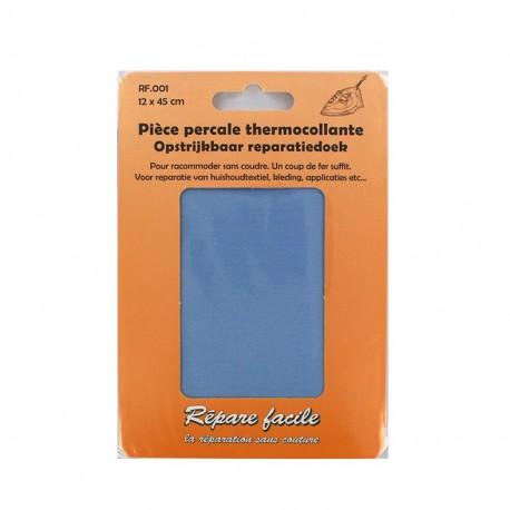 Percale Repair sheet - sky blue