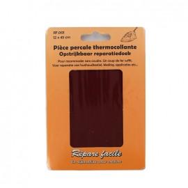 Percale Repair sheet - burgundy