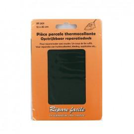 Percale Repair sheet - pine green