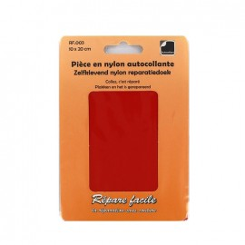 Nylon self adhesive repair sheet - red