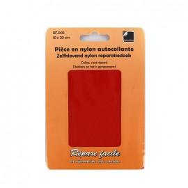 Pièce en nylon autocollante - rouge