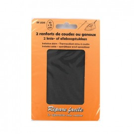 elbow and knee iron-on patch (a pack of 2) - gray
