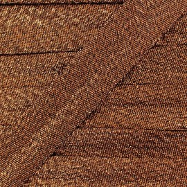 Biais lurex Party 18mm - cuivre x 1m