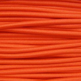 Rounded elastic thread 3 mm - orange