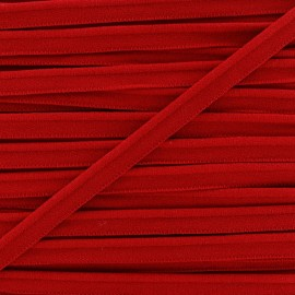 Passepoil élastique - rouge x 1m