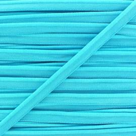 Elastic piping - aqua x 1m