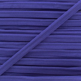 Elastic piping - navy x 1m