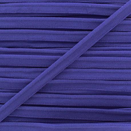 Elastic piping - navy x 1m