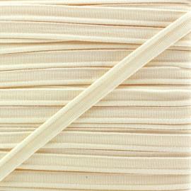 Passepoil élastique - crème x 1m