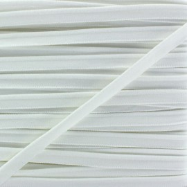 Elastic piping - white x 1m