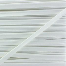Passepoil élastique - blanc x 1m
