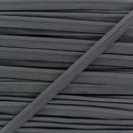 Elastic piping - anthracite x 1m