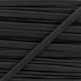 Passepoil élastique - noir x 1m