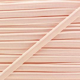 Passepoil élastique - pêche x 1m