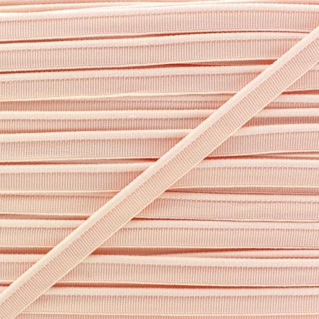 Elastic piping - peach x 1m