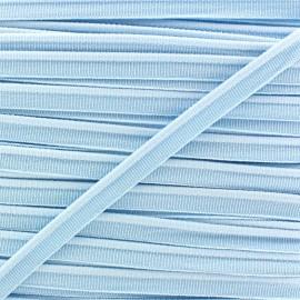 Passepoil élastique - bleu ciel x 1m