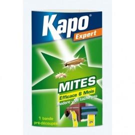 Bande papier accordéon anti-mites et larves de vêtements - Kapo