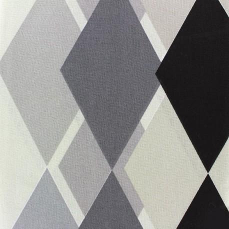 Tissu coton crétonne Sock (280cm) - noir x 15cm