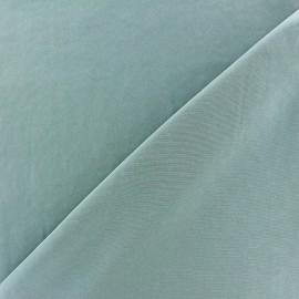 Imitation washed silk fluid fabric - grey blue x 10cm