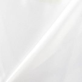 Tissu Satin de Luxe Mariée - blanc optique x 10cm
