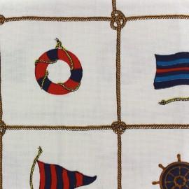 Canvas fabric Velero (280 cm) - ecru x 63cm