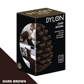 Dylon fabric dye for machine use - dark brown