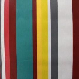 Tissu enduit coton Arnaga - multicolore x 10cm