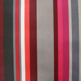 Tissu enduit coton Arnaga - rouge x 10cm