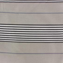 Tissu toile Caspio (280 cm) - taupe x 24cm