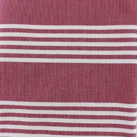 ♥ Coupon 150 cm X 280 cm ♥  fabric Donostia - grenadine