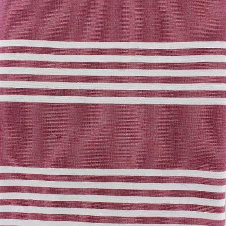 Canvas fabric Donostia (280 cm) - grenadine x 21cm