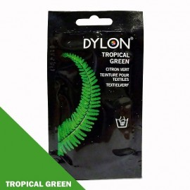 Dylon fabric dye for hand use - tropical green