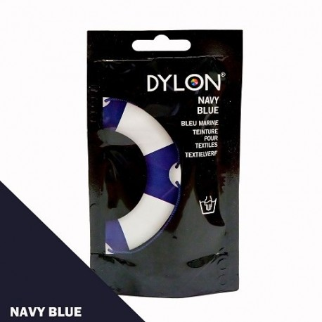 Dylon fabric dye for hand use - navy blue