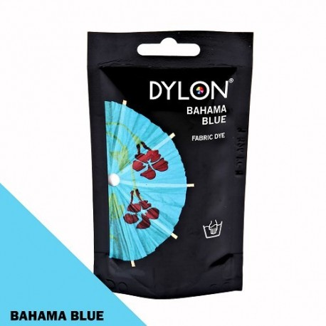 Dylon fabric dye for hand use - bahama blue