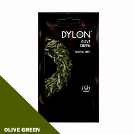 Dylon fabric dye for hand use - olive green