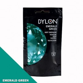 Dylon fabric dye for hand use - emerald green