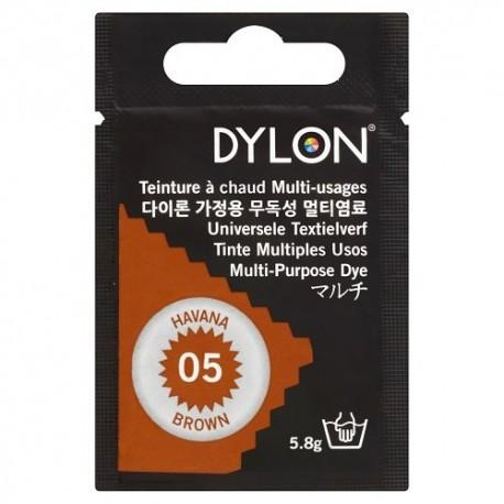 Teinture à chaud multi-usages Dylon - marron