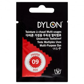 Teinture à chaud multi-usages Dylon - rouge