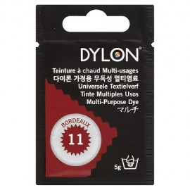 Teinture à chaud multi-usages Dylon - bordeaux