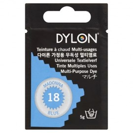 Teinture à chaud multi-usages Dylon - bleu madone