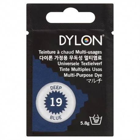 Teinture à chaud multi-usages Dylon - bleu profond