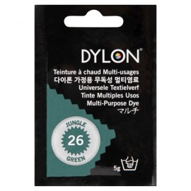 Dylon multi-purpose dye - jungle green