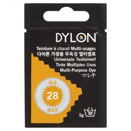 Teinture à chaud multi-usages Dylon - vieil or