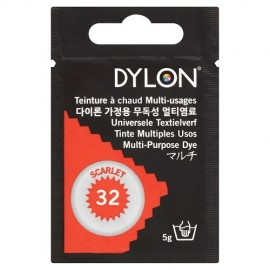 Teinture à chaud multi-usages Dylon - rouge écarlate