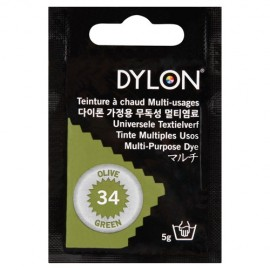 Dylon multi-purpose dye - olive green