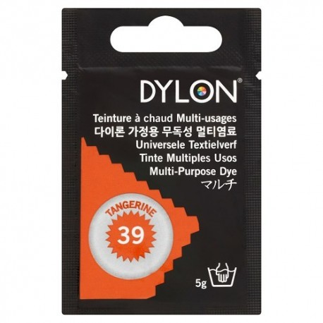 Dylon multi-purpose dye - tangerine