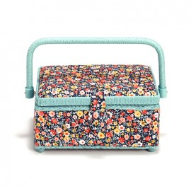 "Rectangle sewing box ""Prym Mille fleurs S"""