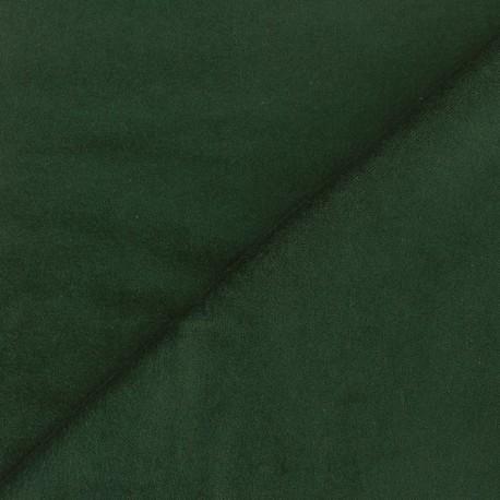 Short velvet fabric Bradford - green x 10cm